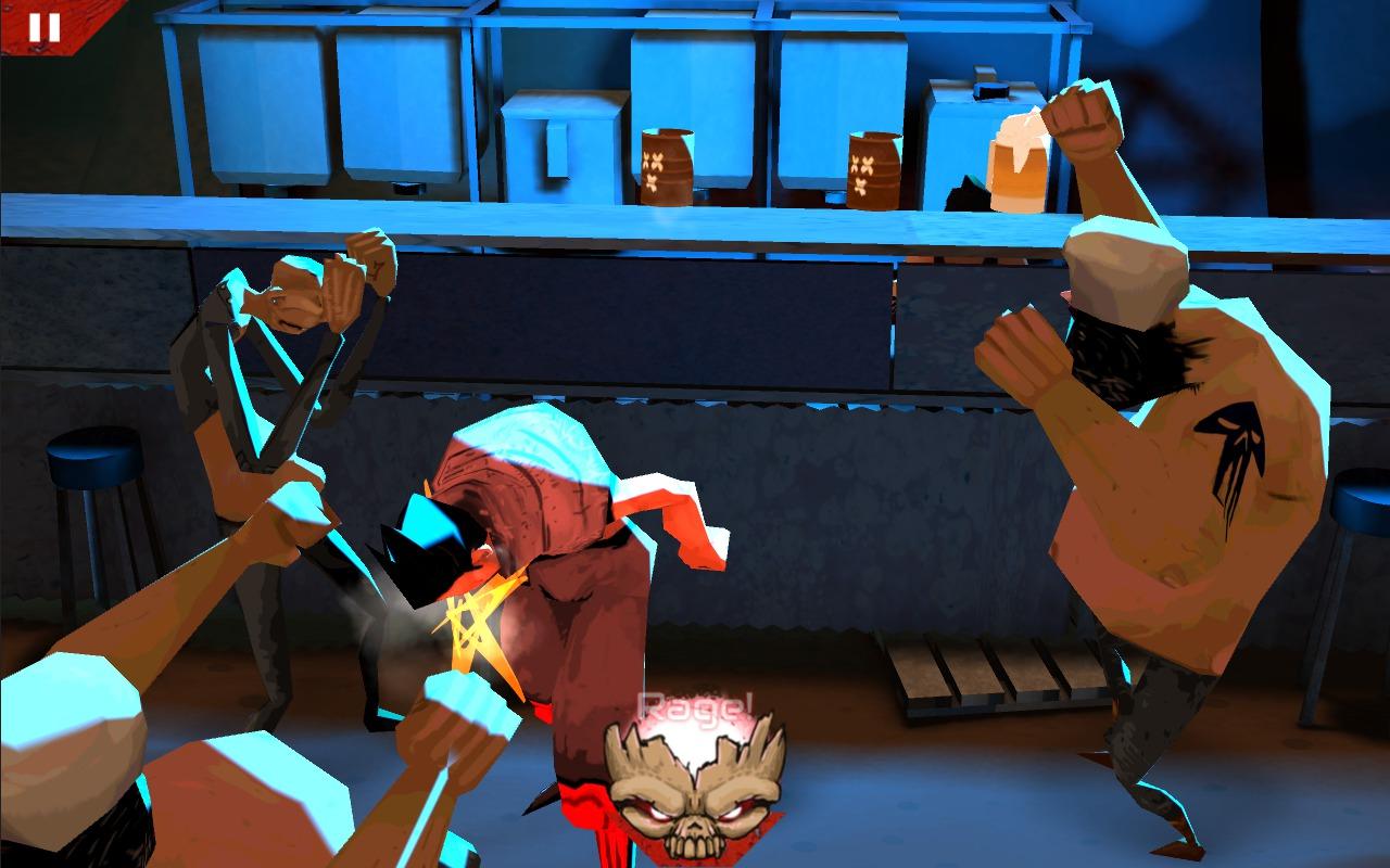 Wasteland Bar Fight: Gal Rage!