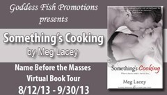 Review: Something's Cooking @MegLaceyBooks
