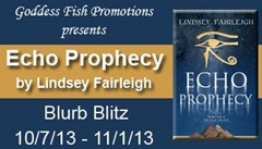 Echo Prophecy (Echo Trilogy, #1) by Lindsey Fairleigh @LindsFairleigh