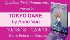 Tokyo Dare (The Sushi Chronicles) by Anne Van @AnneVanWrites