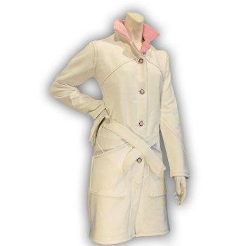 Felpa Donna NoClan a cappotto