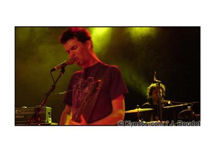 Frigo french band live on stage