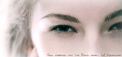 Eye full of desire wtachin through by Kyesos