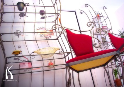 Interior designs from l'Age De Fer by Kyesos