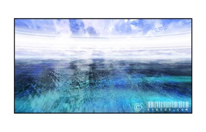 ocean background by Kyesos