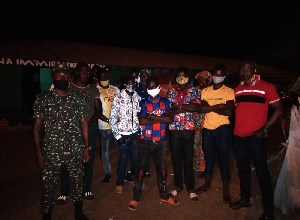 Photo of Ten Burkinabes arrested for entering Ghana illegally