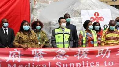 Photo of Covid-19: Health Ministry receives medical supplies from 'China Aid'