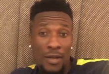 Photo of VIDEO: Watch Asamoah Gyan jamming to Kinaata's 'Things Fall Apart'