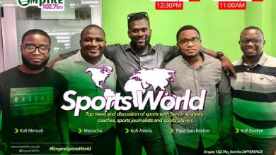 Photo of Empire Fm's Sports World Now Airs On Weekends