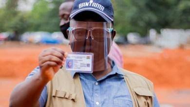 Photo of Bantama : Asenso-Boakye registers to vote, encourages adherence to Covid-19 protocols