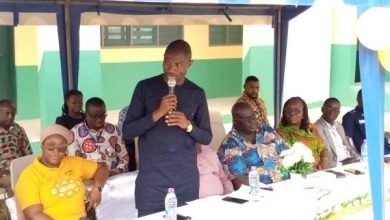 Photo of VIDEO: Watch full speech of Dr. Dominic Eduah when commissioning a classroom block at Daboase SHTS