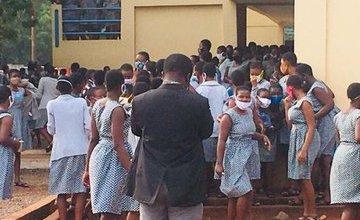 Photo of 55test positive for Coronavirus at Accra Girls SHS