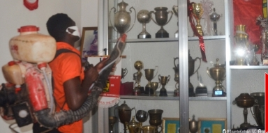 Photo of Coronavirus: Asante Kotoko fumigate its Secretariat [VIDEO]