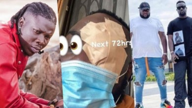 Photo of Photos: Stonebwoy allegedly attacks Sarkodie's manager