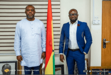 Photo of GFA PRESIDENT CALLS ON EDUCATION MINISTER