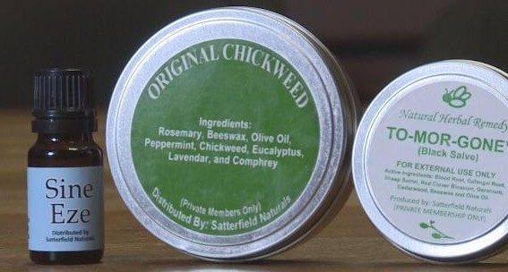 Samuel Girod's all-natural herbal products