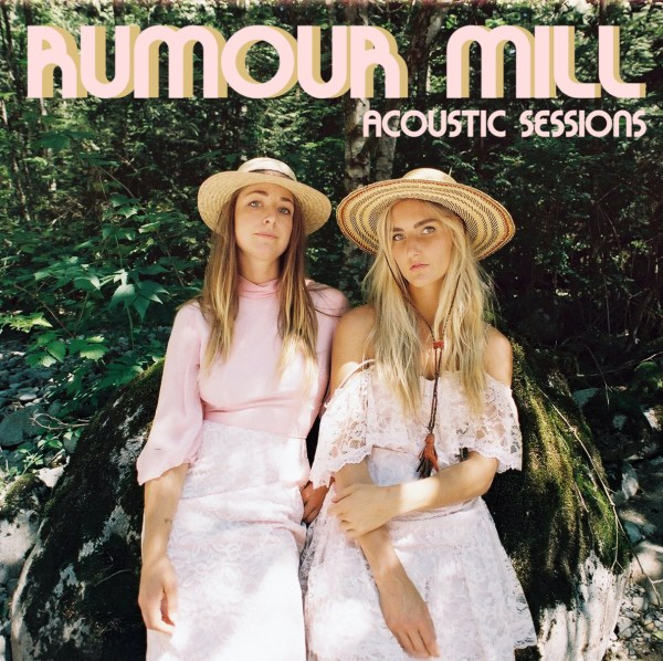 """Official cover art for Rumour Mill's latest EP, """"Acoustic Sessions"""". Photo courtesy of Rumour Mill."""