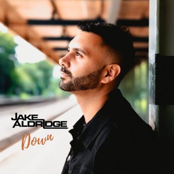 Official cover art for Jake Aldridge's latest single, 'Down'. Photo courtesy of Jake Aldridge.