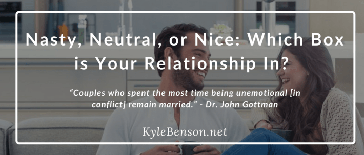 Neutral Relationship Conflict