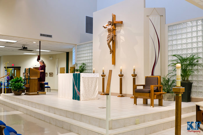 Saint Justin Martry Catholic mass