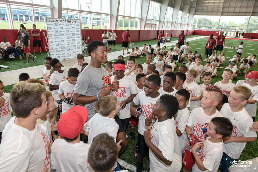 Kyle Fleming Photography - Jameis Winston Pro Camps