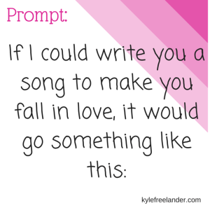 love song prompt