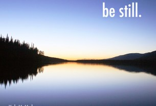 Kyle McMahon shareable photo called be still.