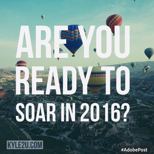 Are you ready to soar in 2016? Join us as we give you the tools you need to help make 2016 your best year yet.