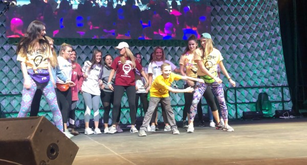 UDance 2018 prominently features B+ Heroes - Children with cancer