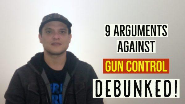 9 arguments against gun control debunked * Kyle McMahon video