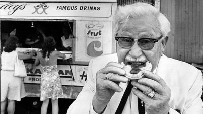 Colonel Sanders was 65 years old when he opened up his first Kentucky Fried Chicken