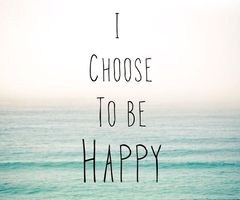 Happiness is a habit, choose to be happy / Harry Hoover