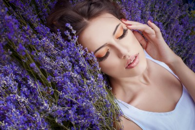 one of the benefits of lavender essential oil is a more restful sleep