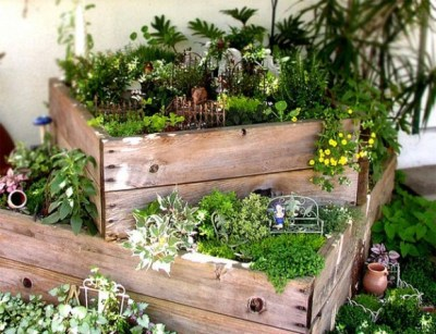 self-sustainable gardening in small places