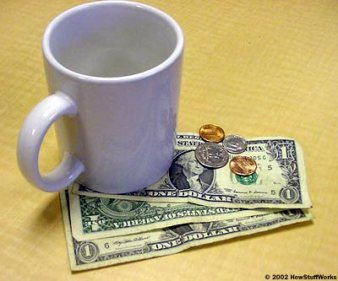 Leave a bigger tip as a random act of kindness