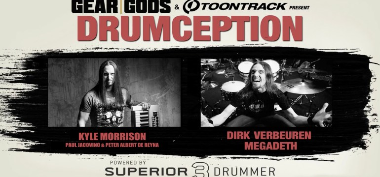 Toontrack and Gear Gods present DRUMCEPTION 2017