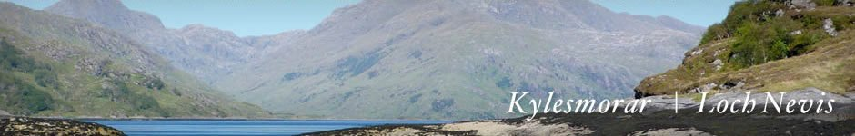 Knoydart accommodation - self catering cottage at Loch Nevis