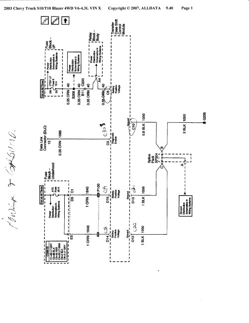 small resolution of pin 2000 s10 wiring schematic