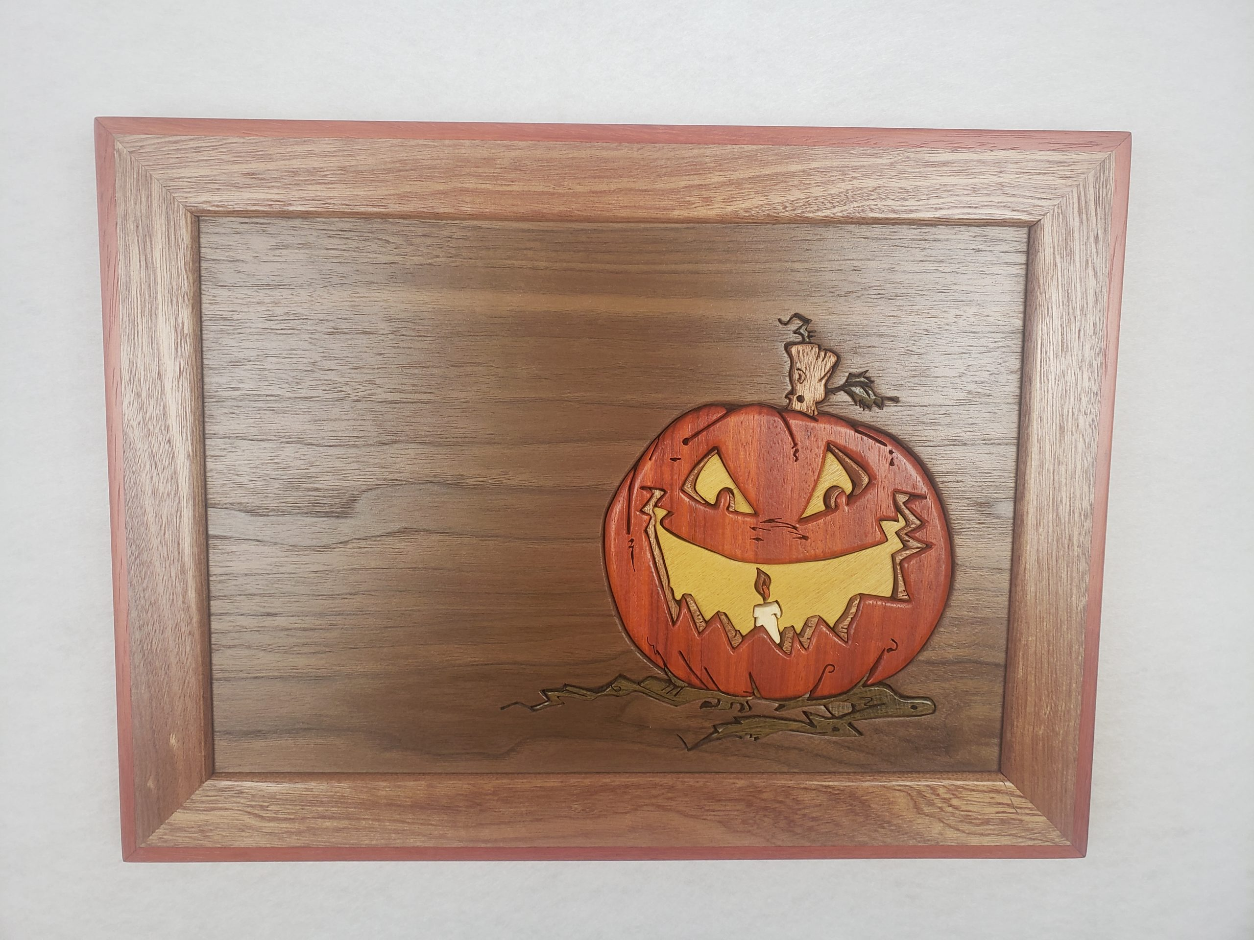 Intarsia Pumpkin