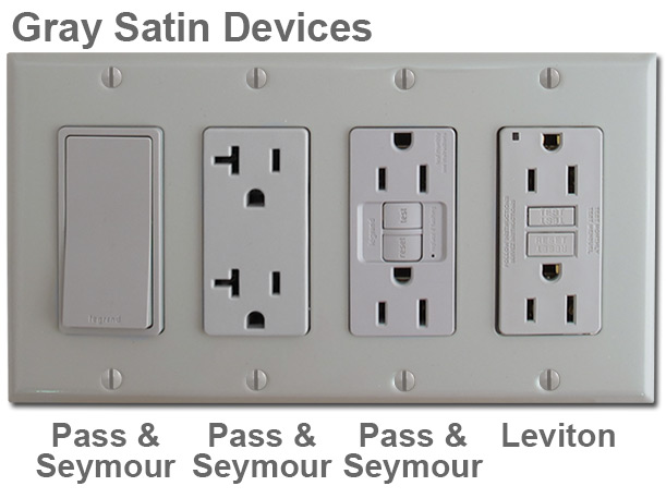gray switch plates grey outlet covers