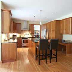 Sherwin Williams Paint For Kitchen Cabinets Decoration With Island, Natural Cherry Cabinet, Fir Wood ...