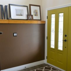 Espresso And White Kitchen Cabinets Table Lights The Best Colours To Paint Inside Of Your Front Door
