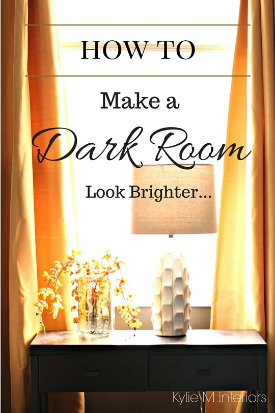 4 Ideas How to Make a Dark Room  Basement Feel Brighter