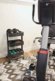 Home Gym Organization Ideas