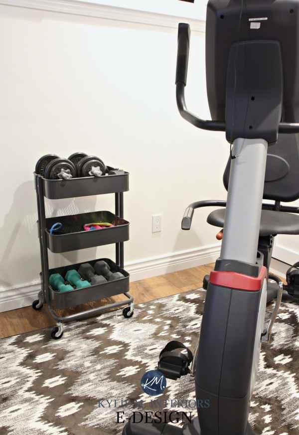 Ikea Hack Idea Raskog. Home Gym Mini Organization