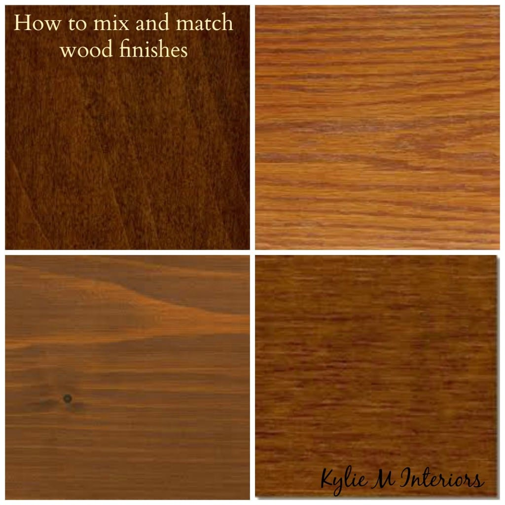 How To Mix And Match Wood Stains Like Oak Cherry Maple