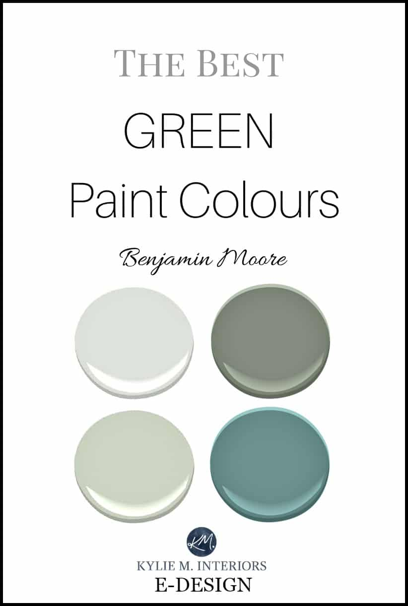 The Best Green And Blue Green Paint Colours By Benjamin