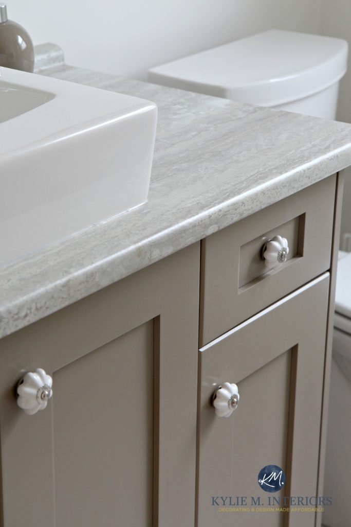 kitchen cabinets with sink raleigh nc bathroom vanity travertine silver countertop, painted ...