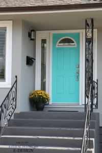 7 Best Teal and Navy Blue Front Door Colours : Benjamin ...
