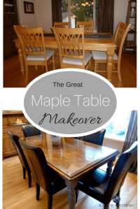 How to Refinish and Update a Maple Table